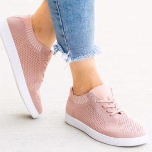 Shoes - BRITNI Blush Sneakers